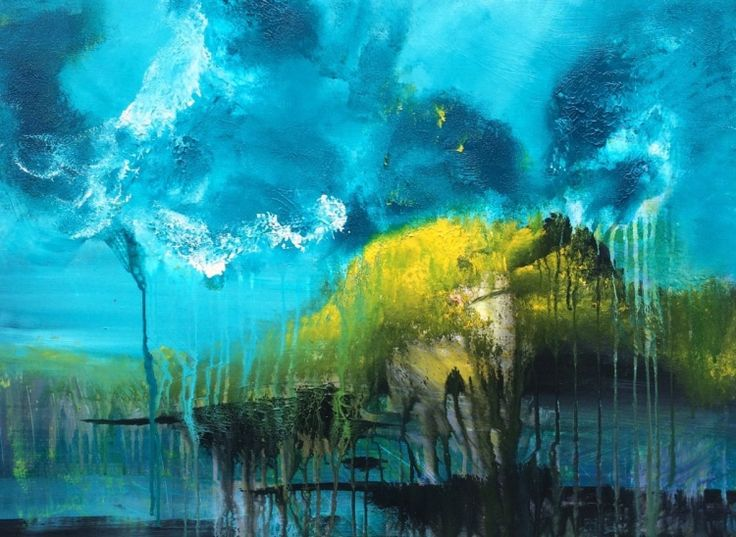 From Heaven by Mo Tuncay #painter #painting #artist #art