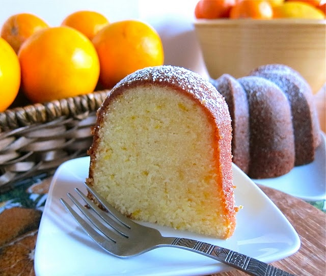 Orange olive oil cake - Because I love bundt cakes and this is so ...