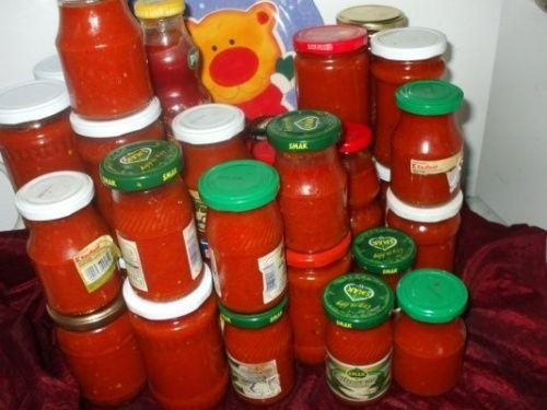 Ketchup de rosii si ardei rosii