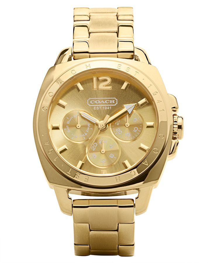 COACH BOYFRIEND BRACELET WATCH - Womens Watches - Jewelry & Watches - Macys