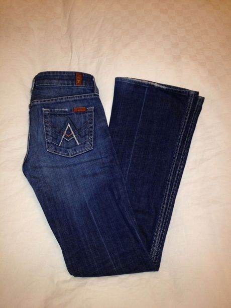Available @ TrendTrunk.com Seven for All Mankind Jeans Size 26. By Seven For All Mankind. Only $58!