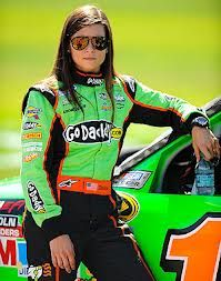 Race Car Driver Danica Patrick..The Lady Made Some History This Year. Since the 2013 season, Patrick has driven the #10 Chevrolet SS for Stewart-Haas Racing in the Sprint Cup Series. In 2013, she became the first female NASCAR driver to win a NASCAR Sprint Cup Series pole, turning in the fastest qualifying lap since 1990 - qualifying for the Daytona 500.