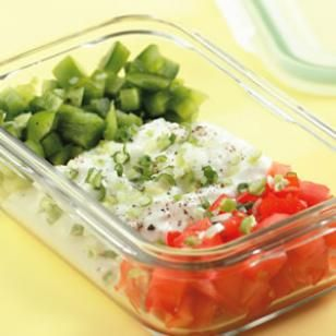 Cottage Cheese Salad Recipe; an unusual combination that I hadn't thought of before.
