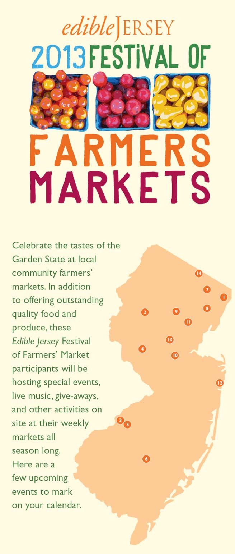 NJ Farmers Markets Eat local, Marketing, Locavore