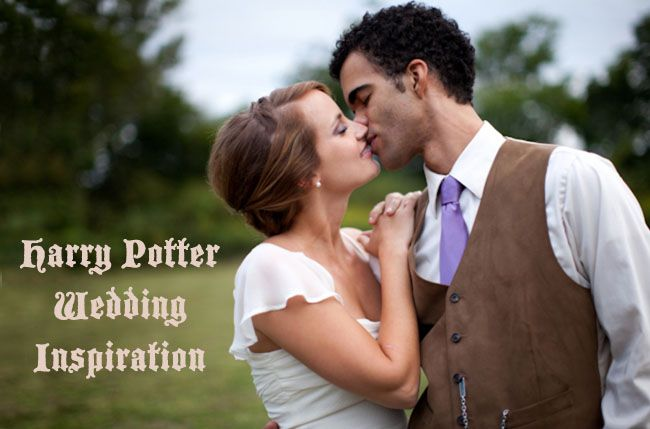 Harry Potter wedding. Stop all your planning. We're making this happen.