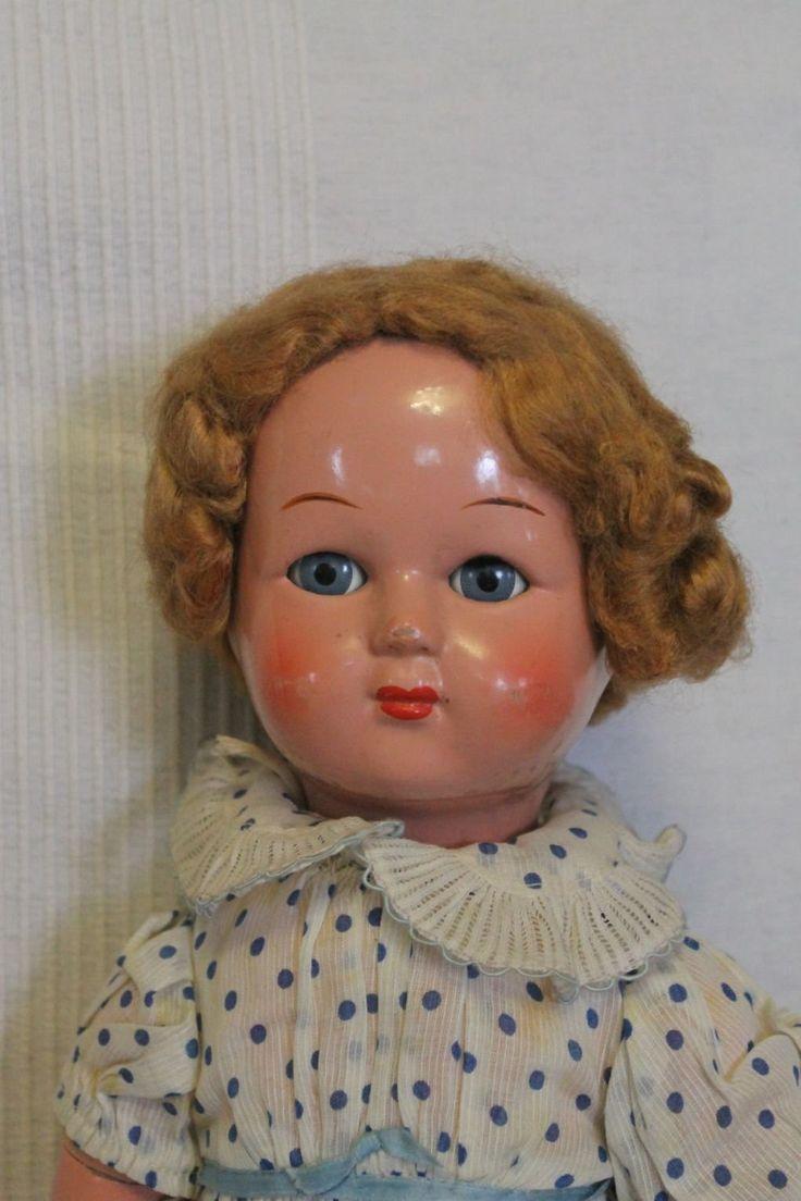 Антикварная кукла -СССР. Цена снижена.
