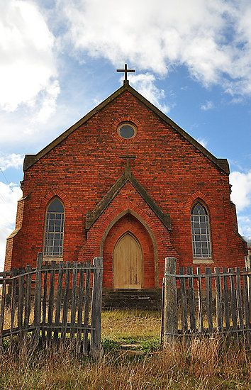NSW - Hill End - Abandoned Church - Hill End NSW by Bev Woodman