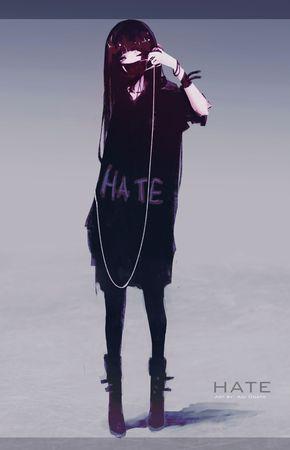 Hate Chan, Aoi Ogata on ArtStation at https://www.artstation.com/artwork/mEnze
