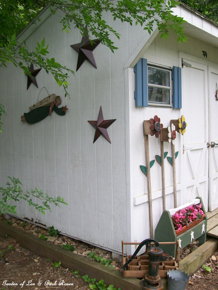 17 best images about outside sheds on pinterest