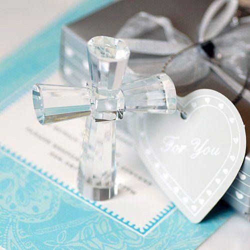 Crystal Cross Keepsake by Beau-coup nice guest gift