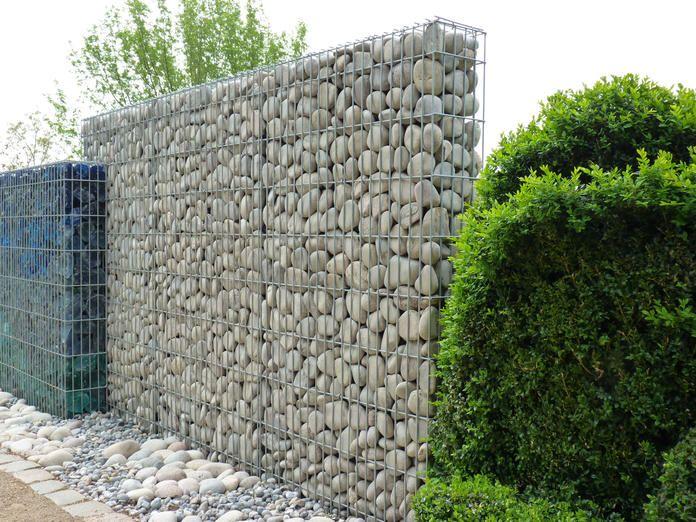 die besten 25 gabionenmauer ideen auf pinterest outdoor. Black Bedroom Furniture Sets. Home Design Ideas