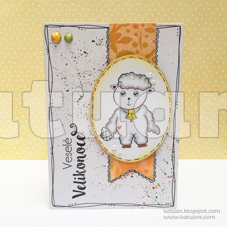 Velikonoční ovečka 1. - Katuan's
