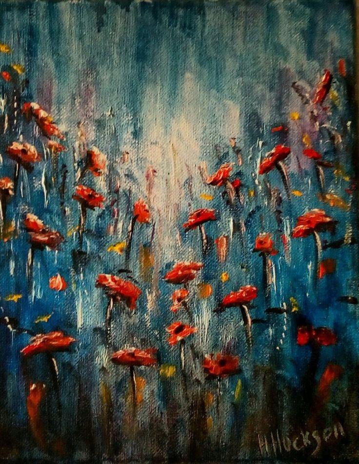 "'Wild Flowers' Original Oil Painting 10"" x 8"""