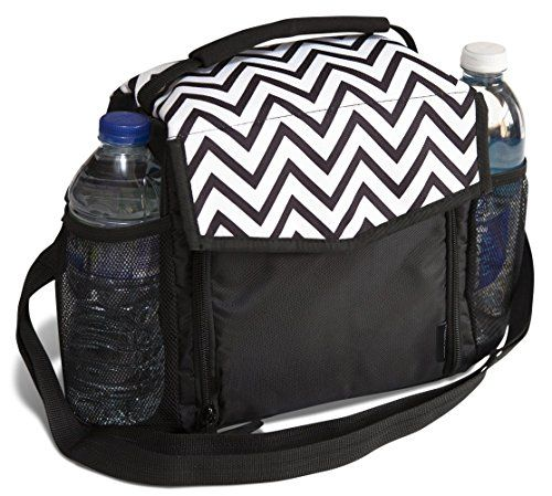 Lunch Bag by Freddie and Sebbie - Luxury Insulated Reusable Lunch Cooler Box - Durable Lunch Boxes For Adults, Women, Men and Kids