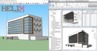 Überwinden der Modell-Kluft - von SketchUp zu Revit - Den kompletten Beitrag gibts auf unserem Blog