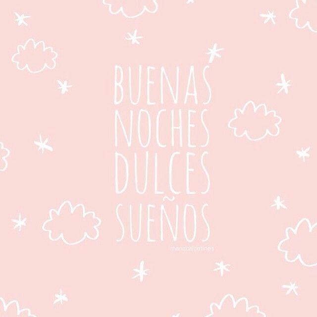 Buenas noches dulces sueños