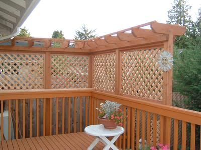 Need privacy on your deck? don't want the neighbor watching you eat your dinner. Think of this as a nice, easy and affordable way to bring privacy back to your life.