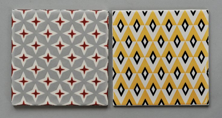 British Tiles from the 1950s