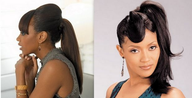 1000+ Images About Ponytails On Pinterest