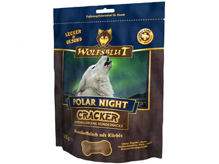 Wolfsblut Polar Night Cracker Hundekekse aus Rentierfleisch mit Kürbis & Süßkartoffel