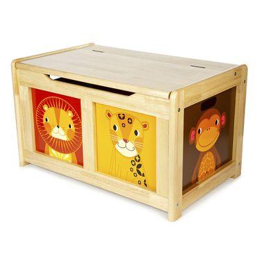 Natural Safari Toy Box, Storage Solutions, Nursery