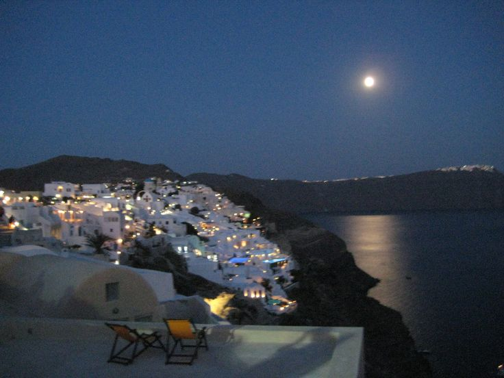 Santorini, Oia. Cyclades , Greece .