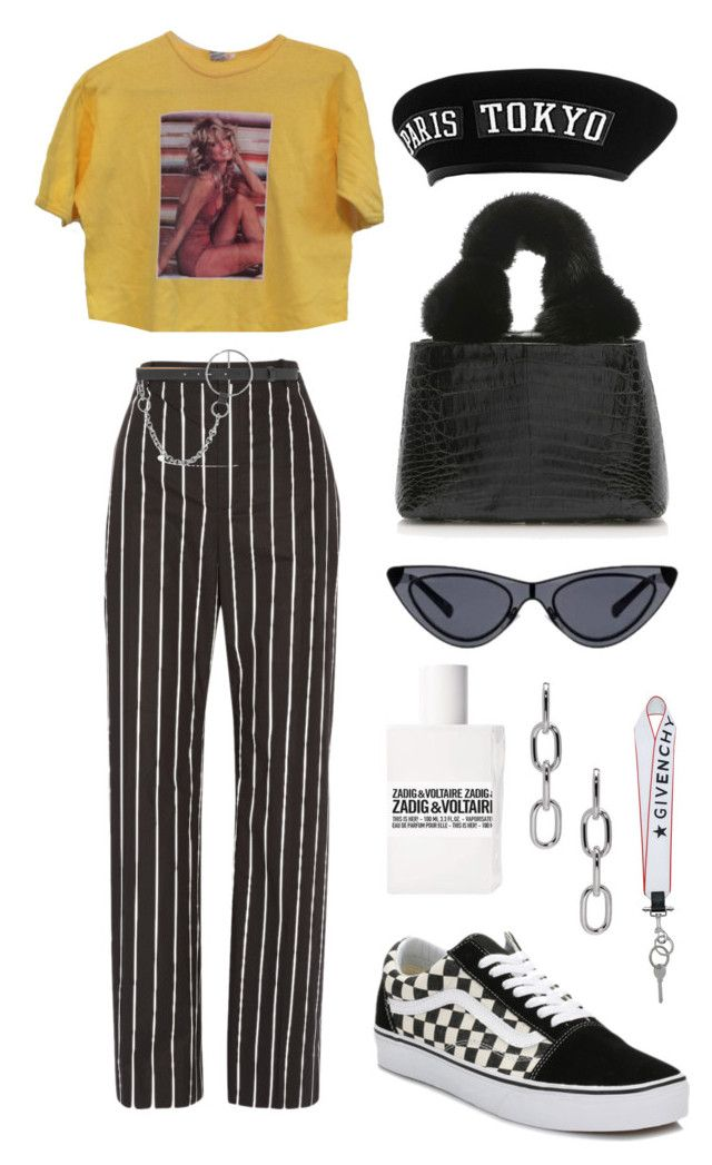 """""""Untitled #560"""" by mimiih ❤ liked on Polyvore featuring Balenciaga, Vans, Nancy Gonzalez, Givenchy, McQ by Alexander McQueen and Alexander Wang"""