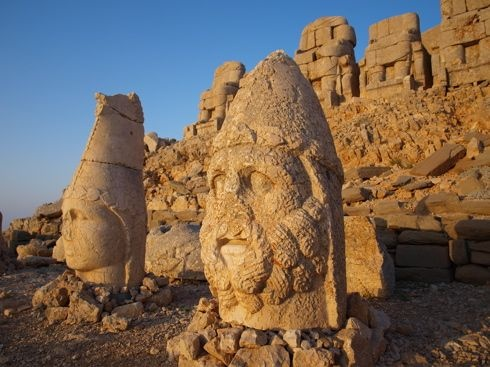 Commagene Kingdom at Mt. Nemrut  #Turkey