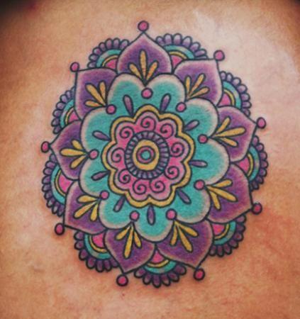 Tatuagem de Rosa dos Ventos Feminina