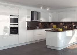 white gloss kitchen - Google Search