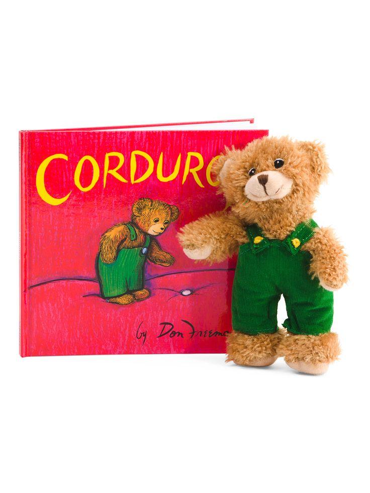 Corduroy Book And Bear