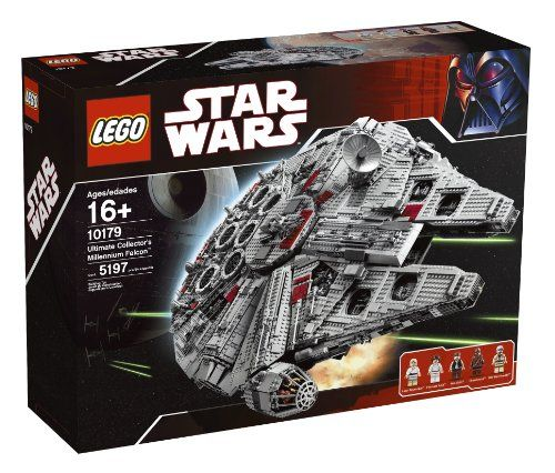 Lego – 10179 – Jeu de Construction – Star Wars – Faucon Millenium | Your #1 Source for Toys and Games