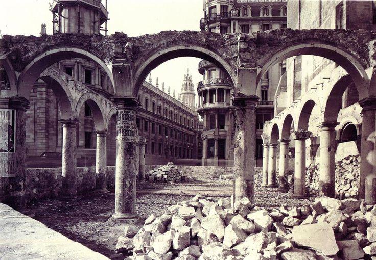 ESPAÑA   Barcelona de siempre   Barcelona eterna - Page 39 - SkyscraperCity1927 restos convento de san sebastian