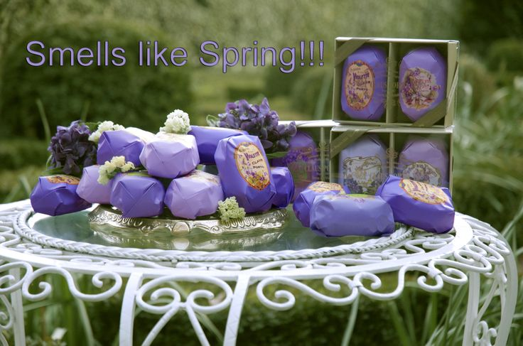 Rosina Perfumery  Smells like Spring! Have a good month everybody!!! Be happy , creative , healthy and don't forget to smell nice!!  Violet Collection Claus Porto
