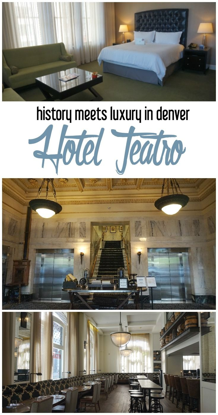 History Meets Luxury in LoDo: A Review of Hotel Teatro, Denver, Colorado | hotels in Denver | where to stay in Denver | where to stay in Colorado | historic hotels | hotel reviews | LoDo district Denver | what to do in Denver