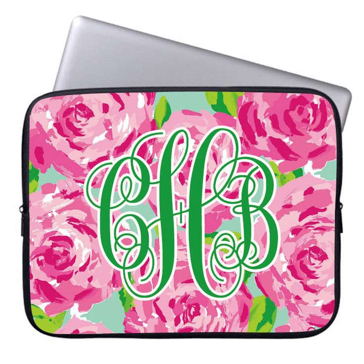 Christmas Sale-Lilly Pulitzer Laptop sleeve 17,custom macbook air 13 covers,monogram macbook pro 15 sleeve,etsy laptop sleeve 15.6'' Bag by Pinkyey on Etsy https://www.etsy.com/listing/256561361/christmas-sale-lilly-pulitzer-laptop