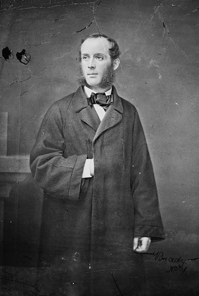 Frederic Edwin Church, photo by Mathew Brady