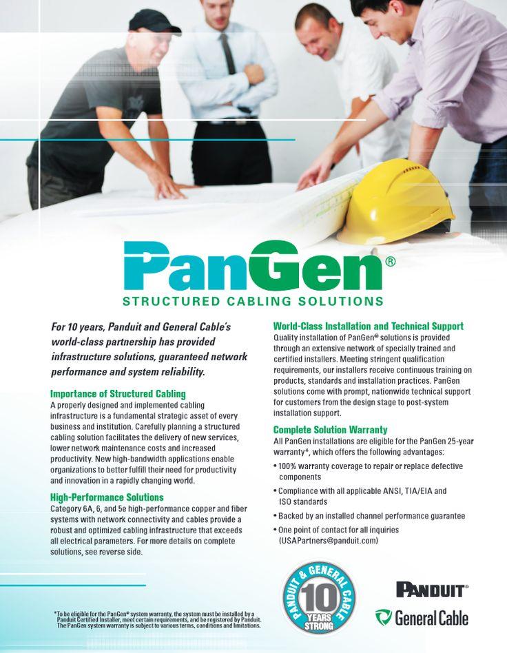 Panduit and General Cable's https://cdn.generalcable.com/assets/documents/information-center/downloads/brochures/datacom-cables/44124_PanGenSS_Final_PR.pdf