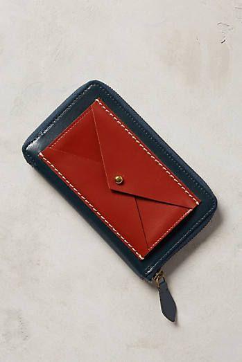 Tartan Envelope Wallet-SR