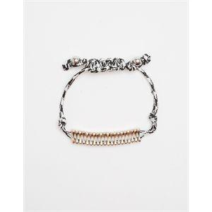 Adjustable Contrast Bracelet