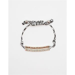 Adjustable Contrast Bracelet