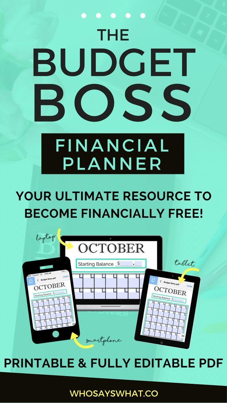 Budget Planner | How To Budget | Budget Binder | Budget Printables | Budget Worksheets | Budget Success  | Financial Success | Budget Boss | Rock Your Budget | Budget Tips | Budget Tracking
