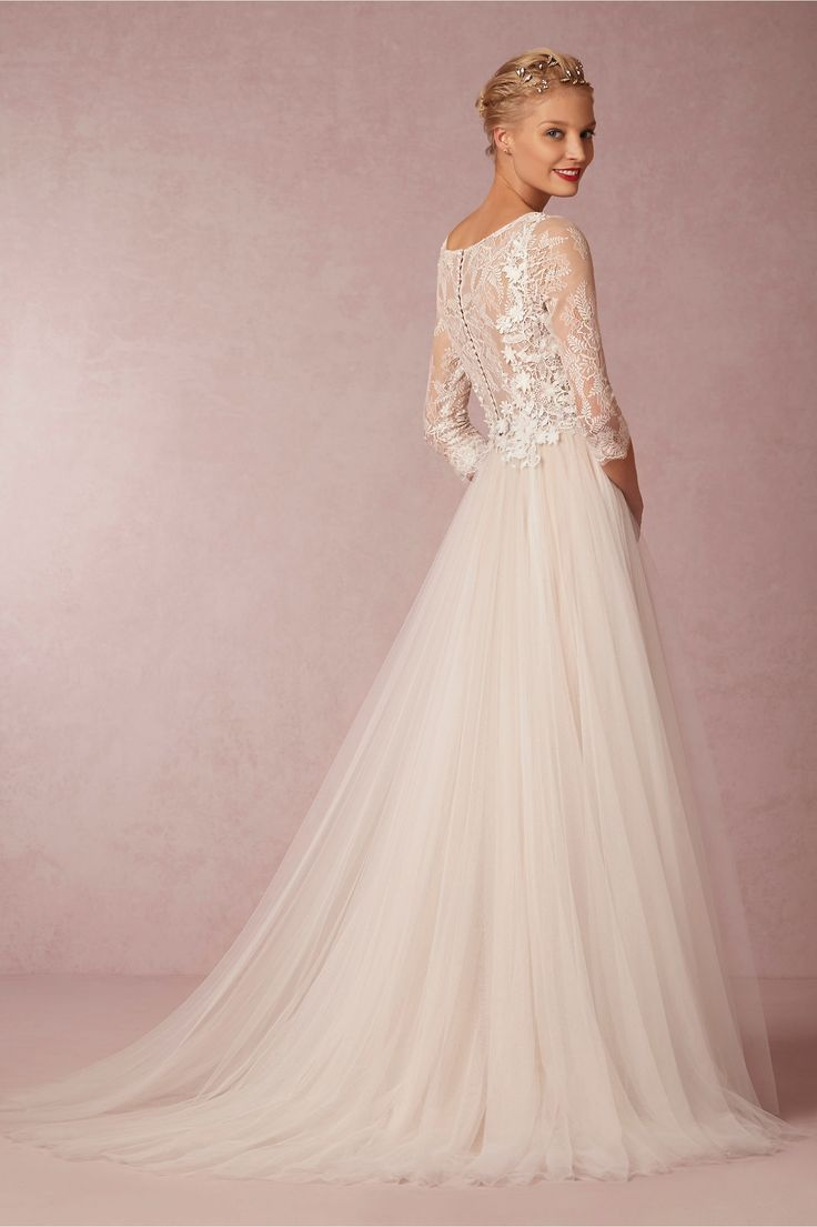 wedding dresses wedding dress accessories Stunning Spring Wedding Dresses and Bridal Accessories from BHLDN