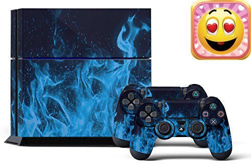 #greatdeal This listing is for one (1)Sony's Newest PlayStation 4 Next-Gen #Console #skin and (2) Dualshock Controllers Skin displayed above. Actual controller no...