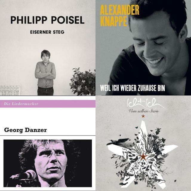 A playlist featuring Georg Danzer, Alexander Knappe, Ich + Ich, and others