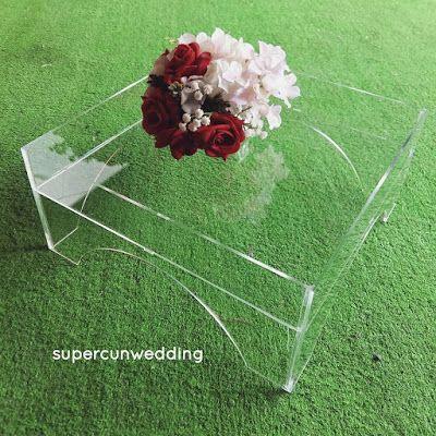 SuperCun Wedding: DULANG HANTARAN ACRYLIC untuk disewa