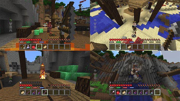 Minecraft, un nouveau mode de jeu sur consoles : Minecraft