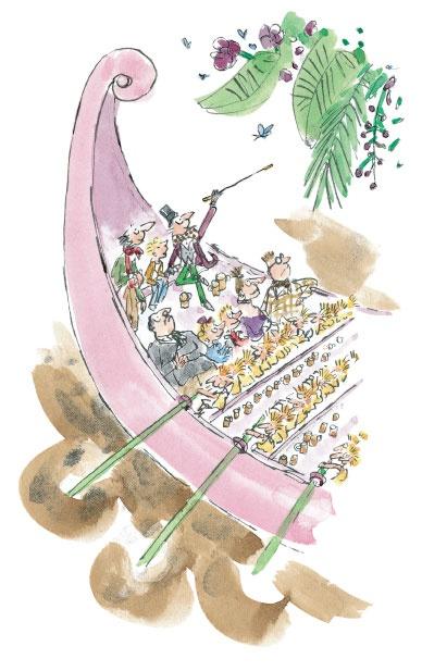 Willy wonka illustration beloved children stories for Puerta willy wonka