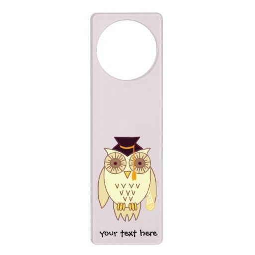Academic Owl Door Hangers