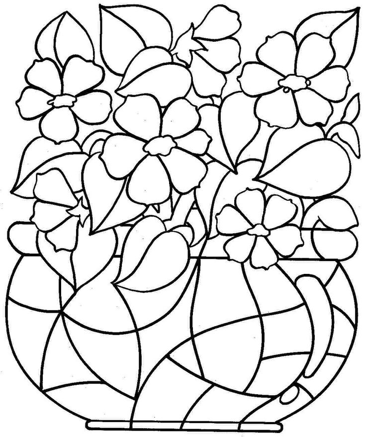 Printable Coloring Pages for Kids 2019 | Printable flower ...